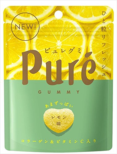 カンロ ピュレグミ レモン 56g×6袋
