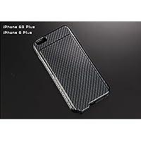 音量アップ iPhone 6S Plus / 6 Plus シリコン スマートフォン スピーカーケース 「サウンドケース」 無地×カーボン柄