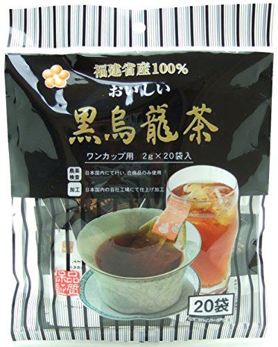 ワンカップ用 黒烏龍茶 ティーパック 20P 40g