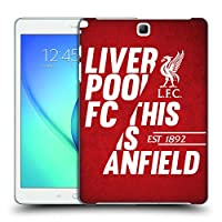 オフィシャル Liverpool Football Club レッド4 This Is Anfield Samsung Galaxy Tab A 9.7 専用ハードバックケース