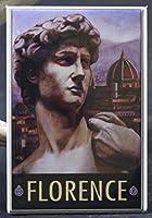 Florence Italy冷蔵庫マグネット。Firenze