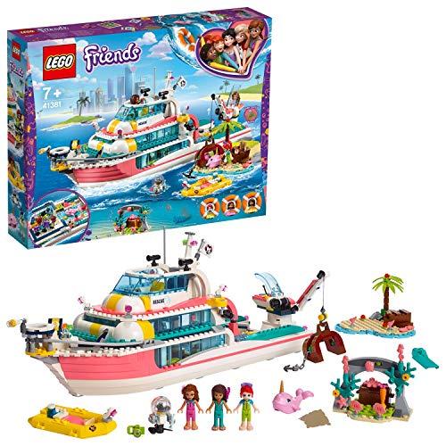 レゴ(LEGO) フレンズ 海のどうぶつレスキュークルーザー 41381