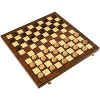 【ポーランド製】木製チェッカーセット 100 / Checkers