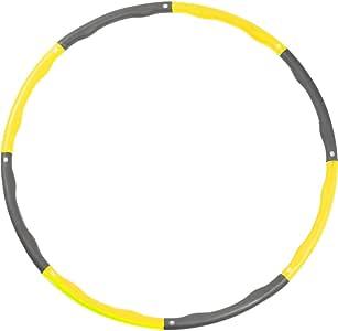 【 選べる11色 組み合わせ自由 】 フラフープ LICLI 大人用 子供用 フラフープ 「 組み立て式 サイズ調整可 サイズフリー 」「 ウエスト 引き締め 有酸素運動 」「 折りたたみ フープ 持ち運び簡単 」「 回しやすい やわらかい 素材 」 新体操 用品