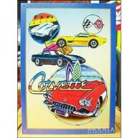 American tin signs Chevrolet / Chevy Corvette