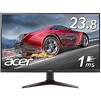 Acerゲーミングモニター VG240Ybmiifx 23.8インチ IPS 非光沢 1920x1080 フルHD 75Hz 250cd 1ms Free-Sync ミニD-Sub 15ピン HDMI