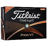 TITLEIST(タイトリスト) ゴルフボール Pro V1 ゴルフボール 12個 3ピース 限定ナンバー 01、03、05、07 ユニセックス T2024S-LESJ ホワイト