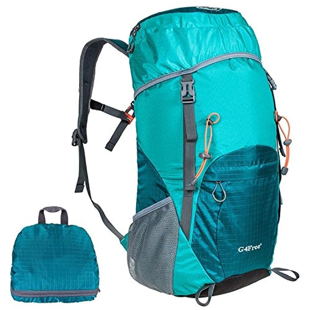 アナリスト肝分注するG4Free 超軽量折りたたみ 登山用バッグ ポケッタブルバッグ 35L 防水 男女兼用全7色