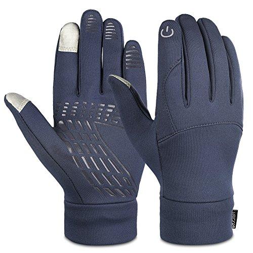 VBIGER グローブ スマホ対応 暖かい手袋 バイキング、トレッキング手袋 防寒 秋冬用 耐磨耗性 滑り止め スポーツ サイクリング アウトドア