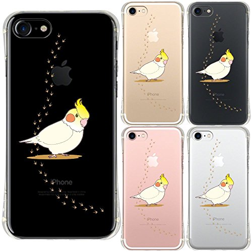 iPhone7 対応 エアークッション ソフト クリア ケース 保護フィルム...