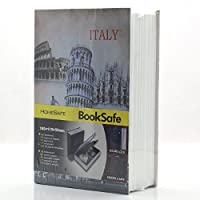 Riipoo M Size Book Diversion Hidden Book Safe with Strong Metal Case Inside and Key Lock ITALY Leaning Tower Size:180 x 115 x 55 MM [並行輸入品]