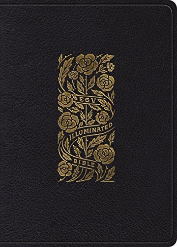 Holy Bible: Black Esv Illuminated Bible, Art Journaling Edition