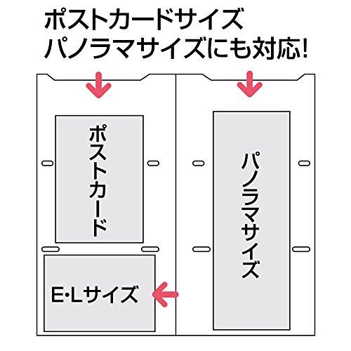 コクヨ『ポシェットアルバムコロレーA4スリムL判300枚』