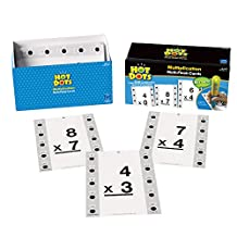 Educational Insights Hot Dots Math Flash Cards- Multiplication