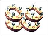 5穴 ジムニー60mmワイドトレッドスペーサー4枚セットPCD139.7 ゴールド