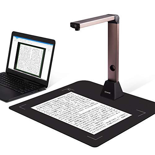 S1 ドキュメントスキャナー 高画質USB書画カメラ 800万画素 日本語文章識別 スキャナー a3 スキャナー b4 OCR機能 LEDライト付き 教室 オフィス