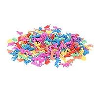 Fenteer 教育玩具 ギフト 子ども 成長する卵 孵化おもちゃ 水成長玩具 プラスチック製 全6カラー選ぶ - 210個-干支動物
