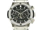 (ウブロ)HUBLOT 腕時計 クラシックフュージョン アエロ クロノ ダイヤベゼル 525.NX.0170.LR.1104 チタン/ラバー 中古