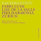 ラフマニノフ : ピアノ協奏曲 第1番~ 第4番 | パガニーニの主題による狂詩曲 (Rachmaninov : Piano Concertos 1-4 | Rhapsody on a Theme of Paganini / Fabio Luisi | Lise De La Salle | Philharmonia Zurich) (3CD) [輸入盤] [日本語帯・解説付]