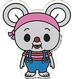 タイムスリップTV《にこにこぷん/ぽろり》ビニールステッカー/耐水加工☆キャラクターSTICKER通販☆