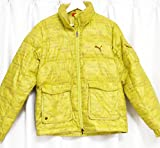 PUMA ジャケット プーマPUMAデジタルカモフラージュ/ダウンジャケット黄緑デッドストック