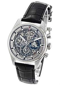 ゼニス エル プリメロ クロノマスター フルオープン クロノグラフ アリゲーターレザー 腕時計 メンズ Zenith 03.2153.400/78.C813[並行輸入品]