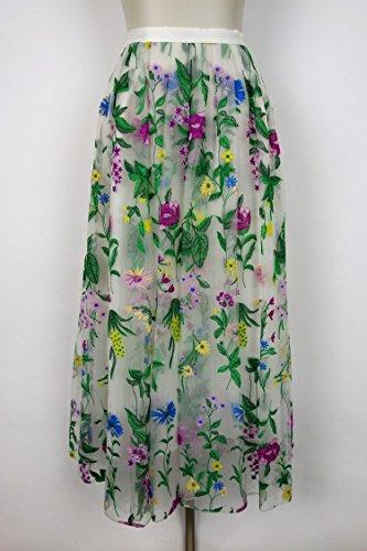 GRACE CONTINENTAL(グレースコンチネンタル)フラワー刺繍チュールスカート