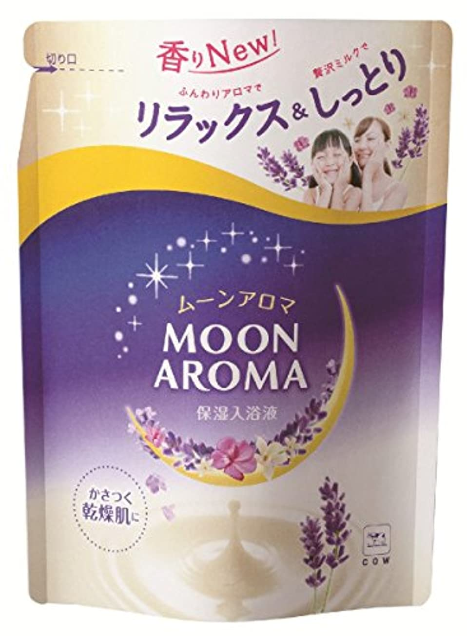 メイン幼児スキャンダルお湯物語 ムーンアロマ ラベンダードリームの香り 詰替用 480mL