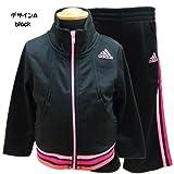 adidas ジャージ adidas アディダス ベビー ジャージ 上下セット - デザインA/12M=75〜80cm