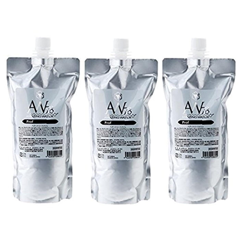 受取人爆発アイスクリーム中央有機化学 AW78 アメイジングウォーター プロフェッショナル 500ml レフィル 3個セット