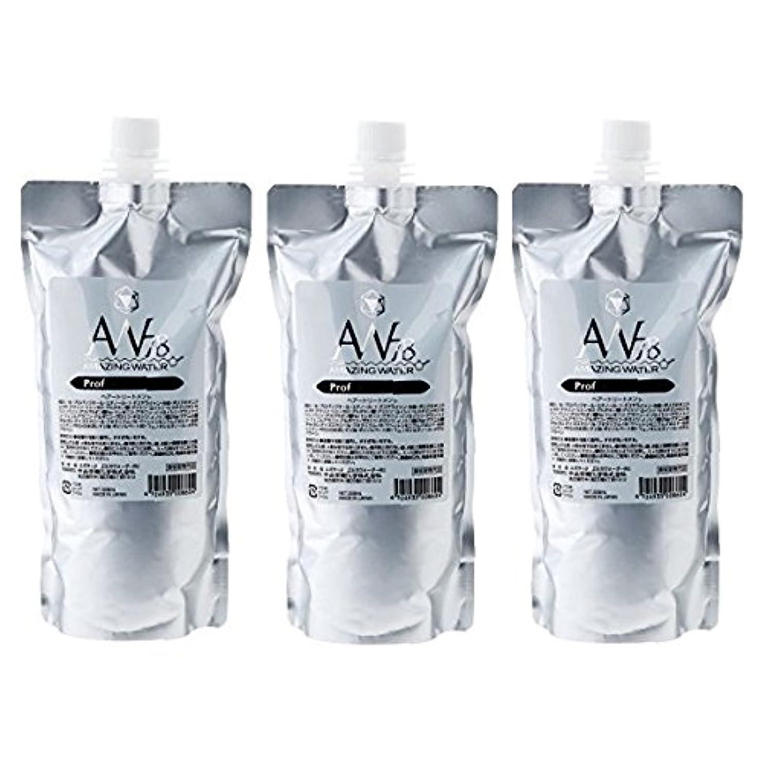 れんが偶然の無声で中央有機化学 AW78 アメイジングウォーター プロフェッショナル 500ml レフィル 3個セット