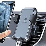 VANMASS 車載ホルダー スマホホルダー 車 携帯ホルダー 吹き出し口クリップ式 片手着脱 安定性抜群 原料から作りまでの高品質 iPhone Samsung HUAWEI Xperia AQUOS等スマートフォンに対応可能