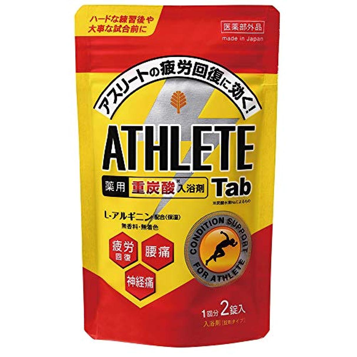 柔らかさ打ち上げる降雨日本製 made in japan 薬用 ATHLETE Tab2錠x1パック BT-8572 【まとめ買い12個セット】