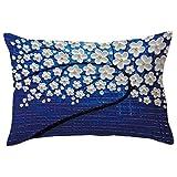アウトドア用品 (C) - BSELL Flowers and Tree Rectangle Pillow Cover Case Pillowcase Cafe Home Party Valentine's Day Decor