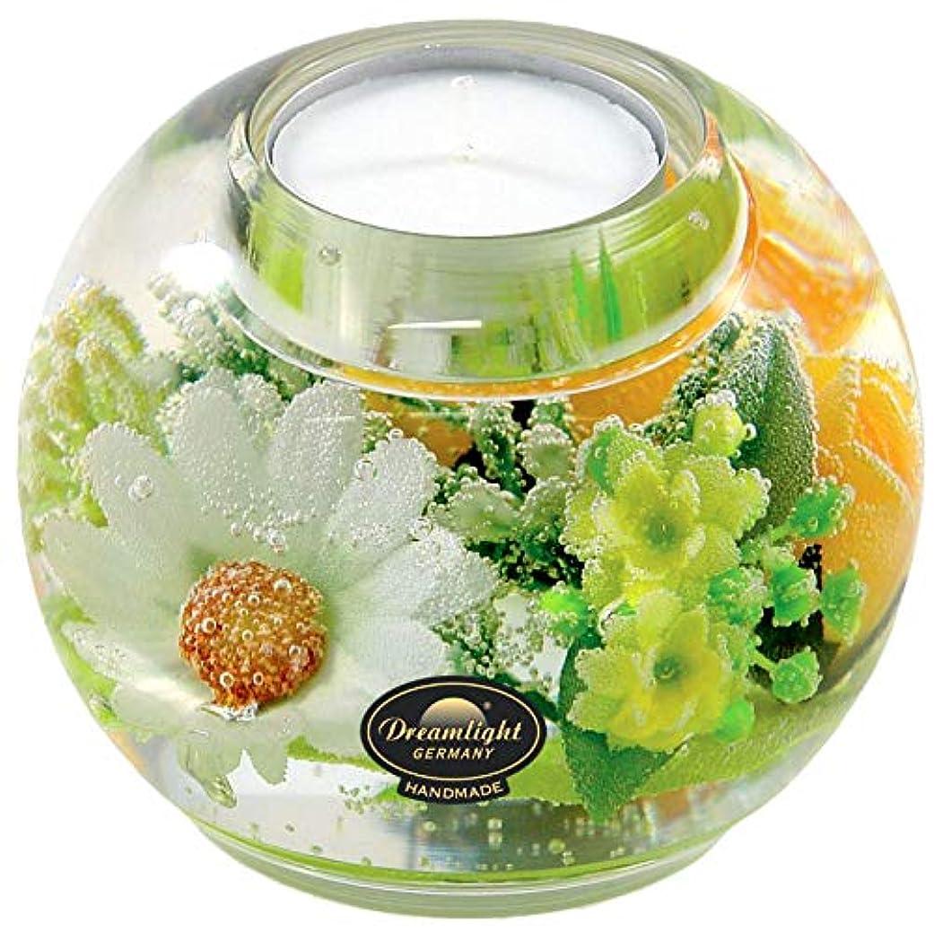 祭り閃光まぶしさドリームライト マーキュリー スプリングフラワー キャンドルホルダー ガラス キャンドルスタンド
