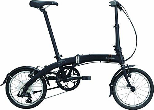 DAHON(ダホン) Curve D7 7speed 折りたたみ自転車 2017年モデル 16インチ マットブラック 17CVD7BK00
