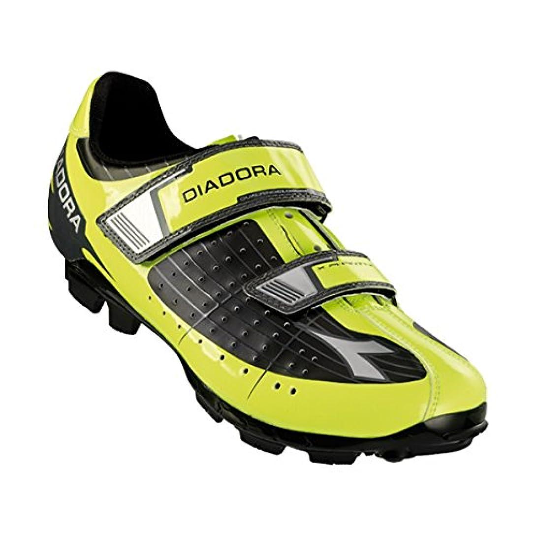 不完全レインコート予報Diadora ディアドラ X Phantom MTB SPDシューズ EU42,US8.5,26.5cm イエロー …