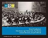「偉大なる指揮者たち」(Great Conductors ~ Fritz Reiner | Igor Markevitch | Paul Kletzki | Leonard Bernstein | Joseph Keilberth) [4CD+ボーナスCD] [Import] [限定盤]