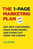 The 1-Page Marketing Plan: Get New Customers, Make More Money, And Stand out From The Crowd 画像