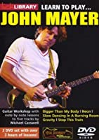 Learn to Play John Mayer (2 Dvd) [Import anglais]