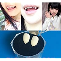 KISENG Halloween Party Cosplay Prop Decoration Vampire Tooth Horror False Teeth Small Size (13mm) by KISENG [並行輸入品]