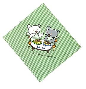 【こぐまちゃんシリーズ】こぐまちゃんランチクロス (グリーン)