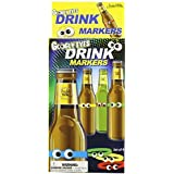 Accoutrements Google Eyes Drink Markers [並行輸入品]
