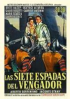 カレンダー 2020 [12 pages 20x30cm] Riccardo Freda Vintage レトロ映画 ポスターs