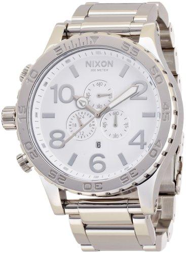 [ニクソン]NIXON 腕時計 51-30 CHRONO ヒフティーワンサーティークロノ HIGH POLISH/WHITE NA083488-00 メンズ [正規輸入品]