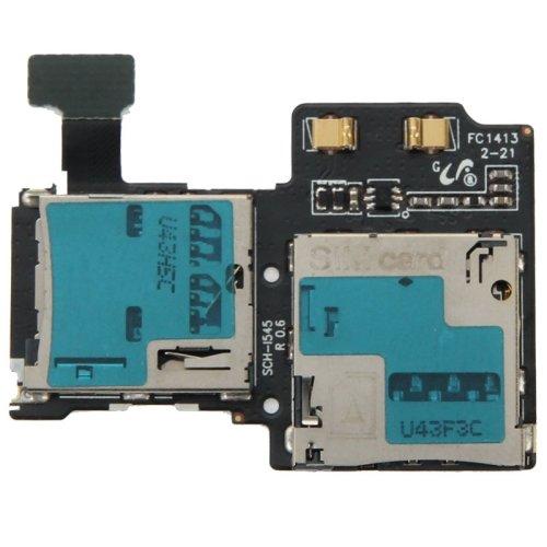 SIMカードスロットギャラクシーS4 / i545用フレックスケーブル