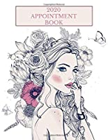 2020 Appointment Book: Girl and Butterflies Daily Planner Schedule Notebook for Hair Stylists, Beauty Salons, Spas, Brow Lash Makeup & Massage. Times Daily and Hourly In 30 Minute Increments