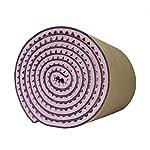 装飾用音響パネル、カラーノイズリダクションレコーディングスタジオの壁自己接着性設置が簡単吸音性綿/ 5平方メートル (Color : Purple)
