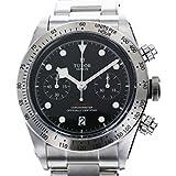 チュードル ヘリテージ ブラックベイ クロノ 79350 ブラック文字盤 メンズ 腕時計 新品 [並行輸入品]