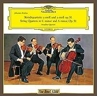 ブラームス:弦楽四重奏曲第3番/ドヴォルザーク:弦楽四重奏曲第12番「アメリカ」